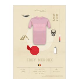 Poster wielrennen - Merckx
