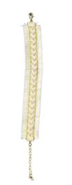 Ibiza style bracelet - beige