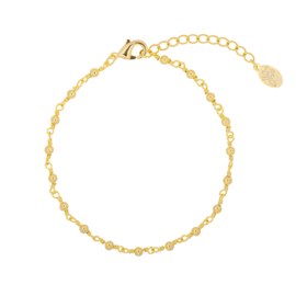 Little dots bracelet - gold