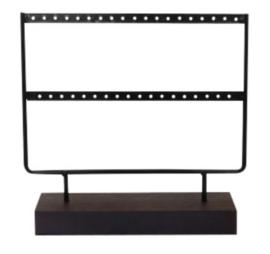 Jewelry display row black