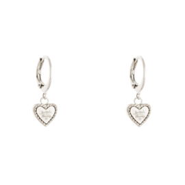 Quote 'Be kind' earrings