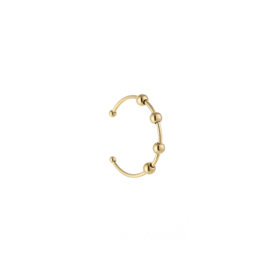 Some studs ring - gold