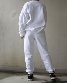 Oversized SAINT sweater - white