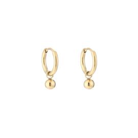 Little ball earring - gold