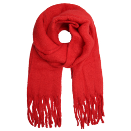 Basic scarf - red