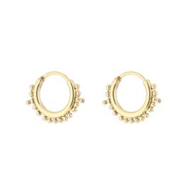 Little bali earring - gold