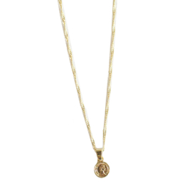 Little coin necklace - gold
