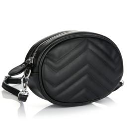 Lara bum bag - black