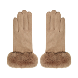 Elegance gloves - beige
