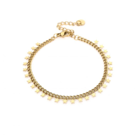 Little stars bracelet - gold