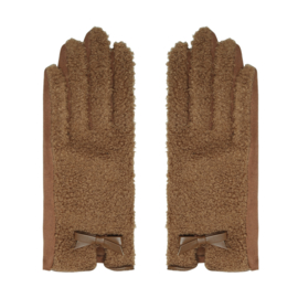 Teddy handschoenen brown