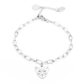 Leopard chain bracelet