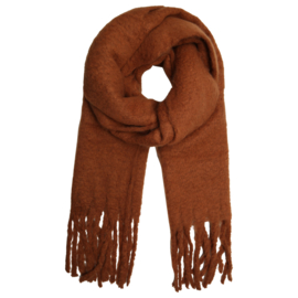 Basic scarf - brown