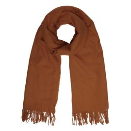 Basic scarf - brown
