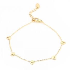 Little V bracelet - gold