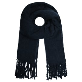 Basic scarf - dark blue