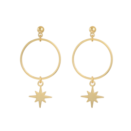 Lets shine earring - gold