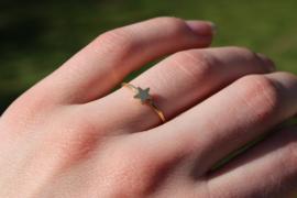 Star ring - gold