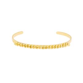 Tough chain bracelet - gold