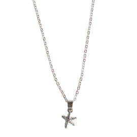Little starfish necklace