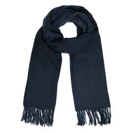 Basic scarf - dark blue