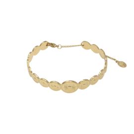 Garland bracelet - gold