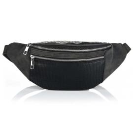 Bum bag croco black