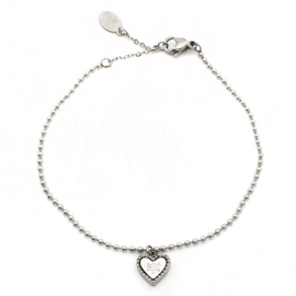Quote 'Be kind' bracelet