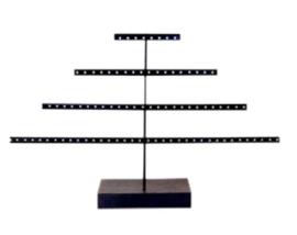 Jewelry display pyramid black