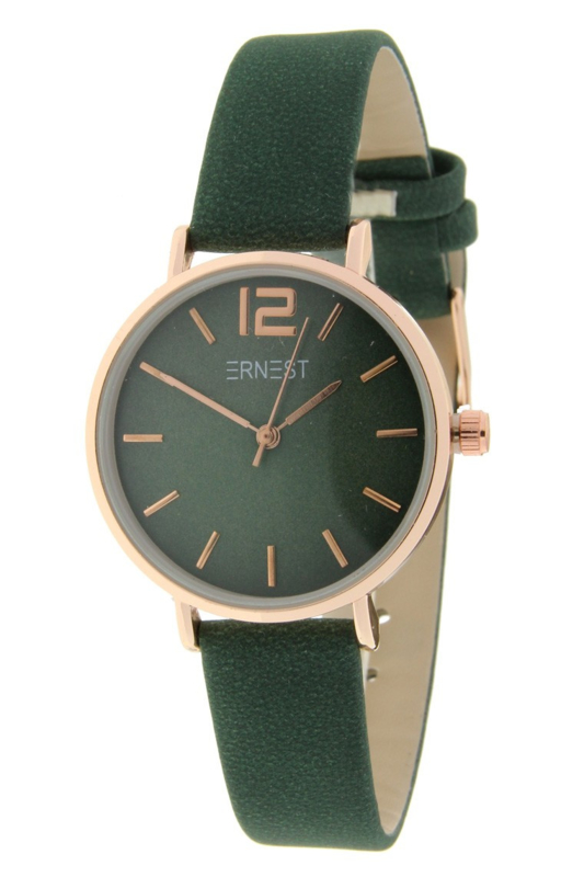 Basic horloge - green