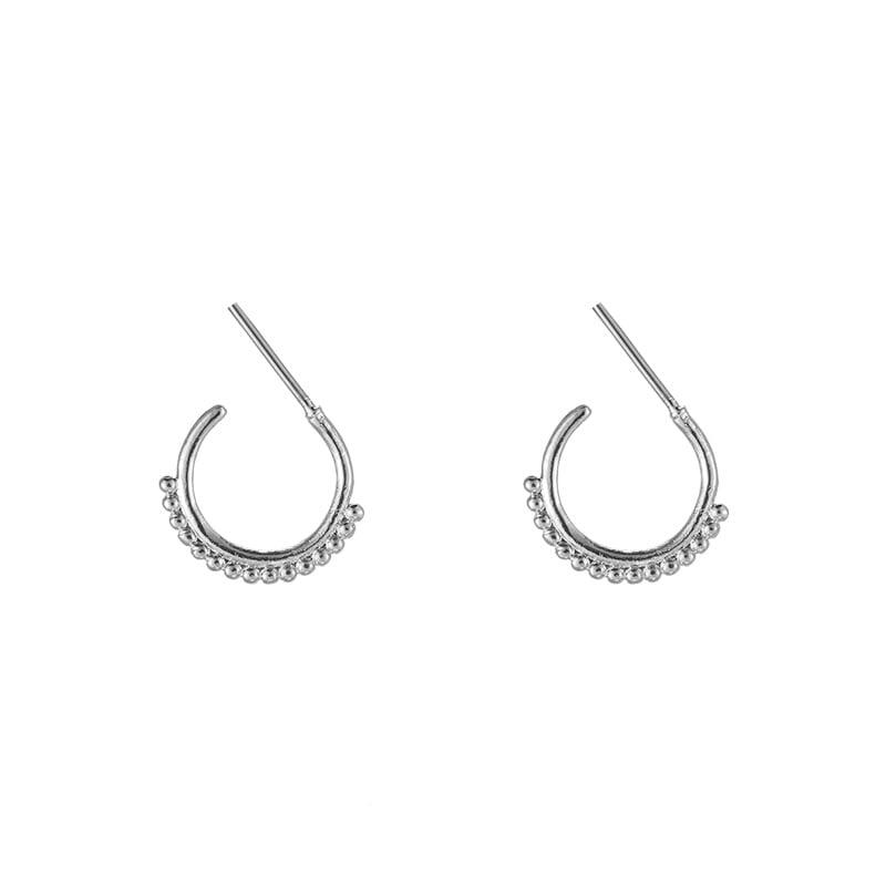 Trendy dots earring