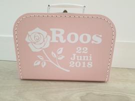 Koffertje 'Roos'