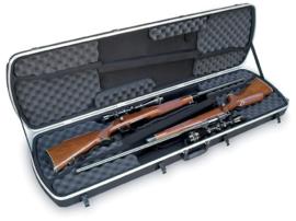 (425) Dubble jacht geweer koffer SKB 2skb-5114