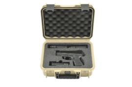 (404) Enkele pistool koffer Tan SKB 3i-1209-sp-t