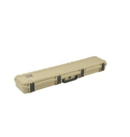 (420) Enkele geweer koffer Tan SKB 3i-4909-sr-4t