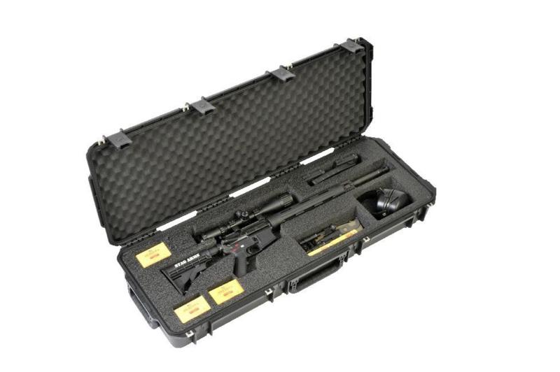 (417) AR-15 Single Rifle Case SKB 3i-4214-ar