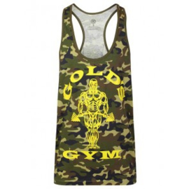 Officiële Muscle Joe Premium Stringer Camo green