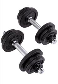 Gewichten - fitness - bodybuilding - krachttraining - Dumbbell Set - 20 Kg