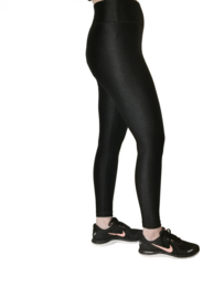 Leggings shine ( leather look)  met gratis weerstandsband !