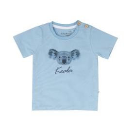 Ducky Beau T-shirt Placid Blue Koala maat 74, 80 en 86