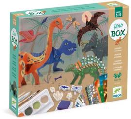 Djeco Knutselkoffer De Wereld Van De Dinosauriërs