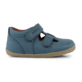 Bobux Step-up schoentje half open jongen/meisje blauwgroen