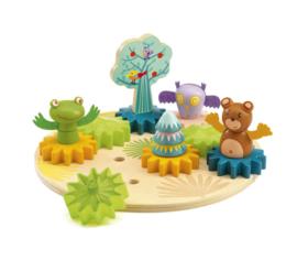 Djeco Woodytwist Tandwiel Speelgoed