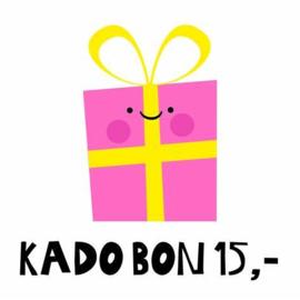 Kadobon 15 €
