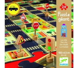 Djeco puzzel 'de stad'