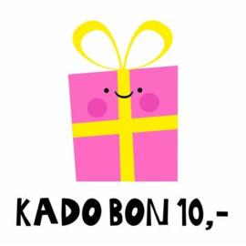 Kadobon 10 €