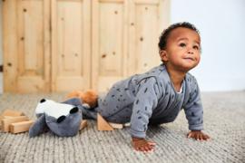 Baby Slaapzak 110cm Spot - Met Afritsbare Mouw - Storm Grey