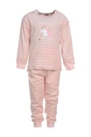 Pyjama ecru/rose