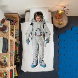Snurk dekbedovertrek Astronaut / flanel
