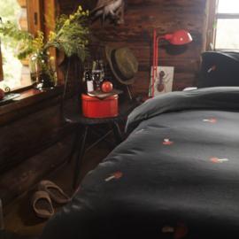 Snurk dekbedovertrek  paddestoel / flanel